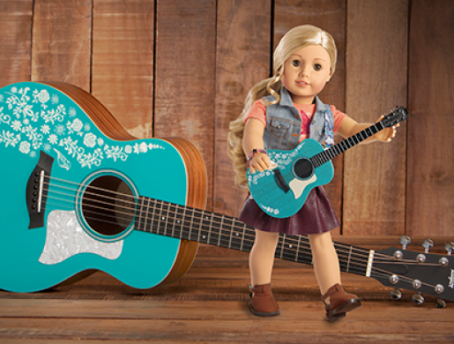 American Girl and Taylor Guitars Collaboration