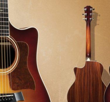 Taylor Guitars Website Redesign Celebrates Community 2012 Line Of