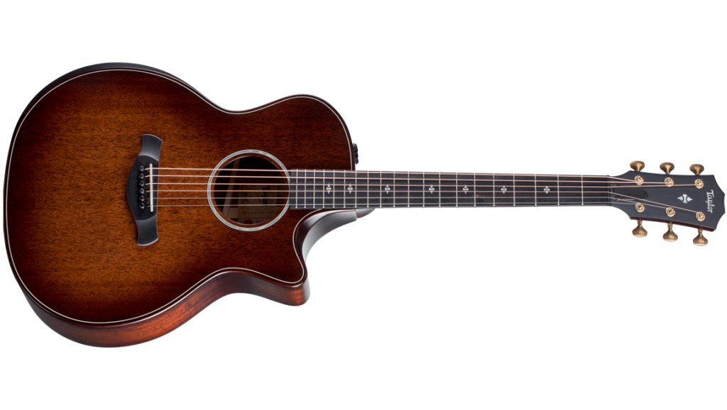 Using urban wood to make the 324ce Builders Edition acoustic guitar