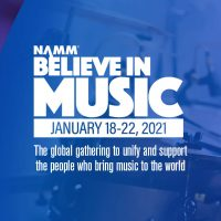 Taylor at NAMM Believe in Music event